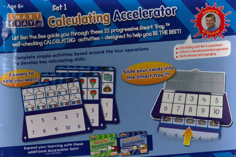 Smart Tray Calculating Accelerator set 1 3