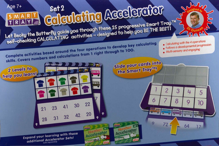 Smart Tray Calculating Accelerator set 2 3