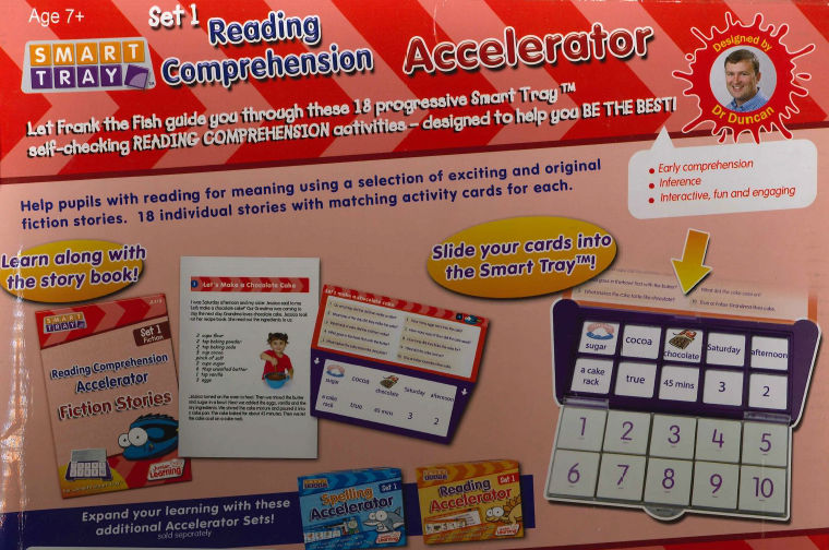 Smart Tray Reading Comprehension set 1 3