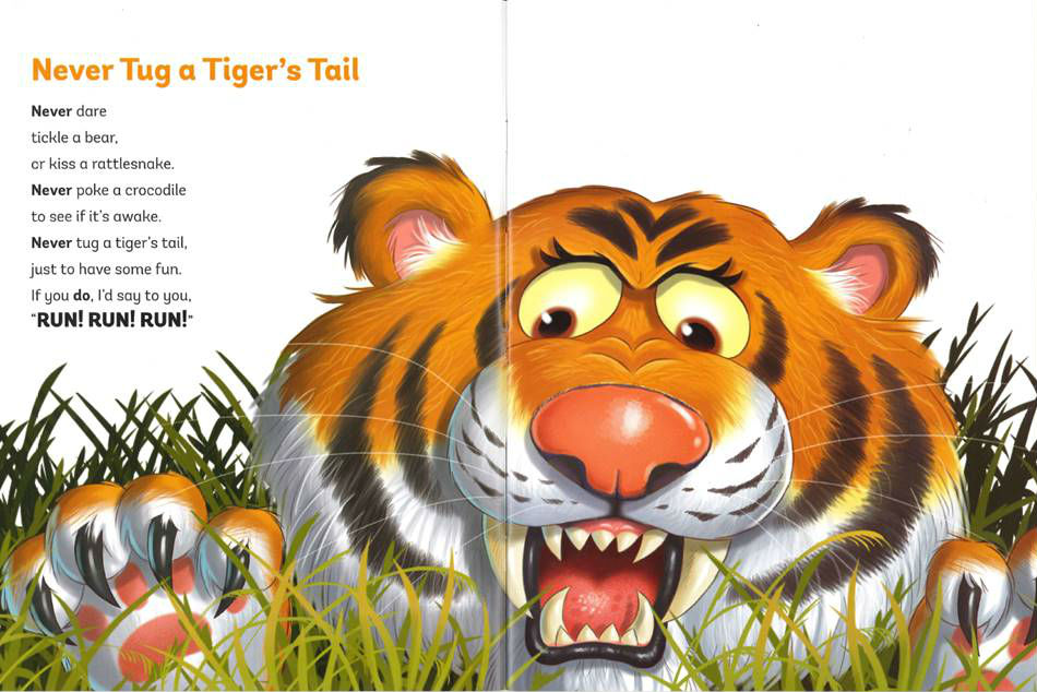 never tug a tigers tail