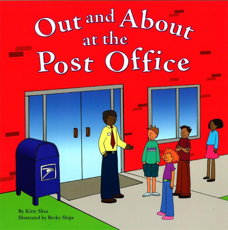 6 Years : Out And About At The Post Office