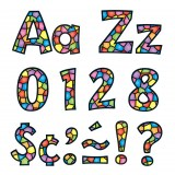 T79751-1-Letters-4-Inch-Playful-Stained-Glass